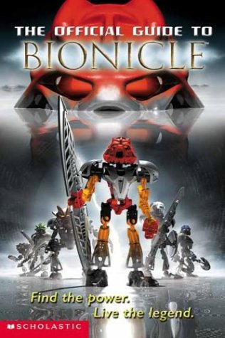 Official Guide to Bionicle Page (Cover 2)
