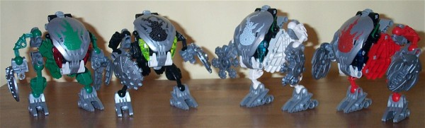 Bohrok Kal Group Shot