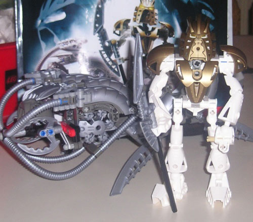 Takanuva and his ride