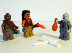 Image of Zombie Minifigs