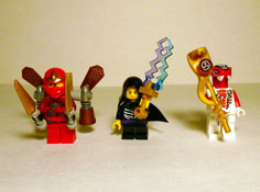 Image of Minifigs Front