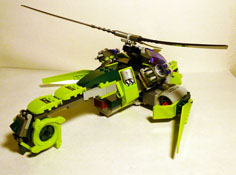 Image of Rattlecopter Back
