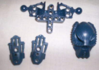 Toa Hahli Pieces New Blue
