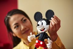 43179 Mickey Mouse & Minnie Mouse Buildable Characters Announce 26