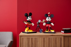 43179 Mickey Mouse & Minnie Mouse Buildable Characters Announce 34