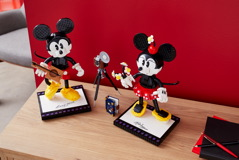 43179 Mickey Mouse & Minnie Mouse Buildable Characters Announce 35