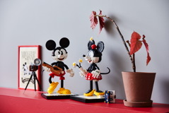 43179 Mickey Mouse & Minnie Mouse Buildable Characters Announce 37