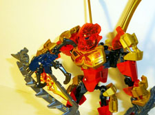 Image of Tahu vs Skull Spider