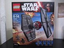 75101 First Order Special Forces TIE Fighter Review 01