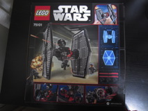 75101 First Order Special Forces TIE Fighter Review 02