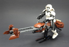 75532 Scout Trooper and Speeder Bike Review 08