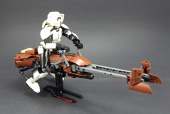 75532 Scout Trooper and Speeder Bike Review 09