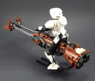75532 Scout Trooper and Speeder Bike Review 10