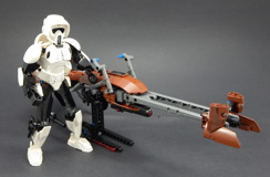 75532 Scout Trooper and Speeder Bike Review 19