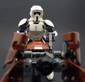 75532 Scout Trooper and Speeder Bike Review 22