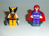 Image of Wolverine and Magnetro Front