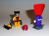 Image of Wolverine and Magnetro  Back 2