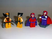 Image of Wolverine and Magnetro Old and New