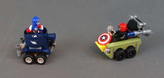 76065 Mighty Micros: Captain America vs. Red Skull Review 26