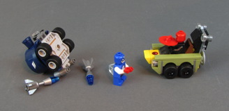 76065 Mighty Micros: Captain America vs. Red Skull Review 30