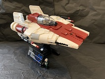 75275 A-wing Starfighter Review 12