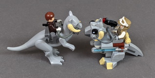75298 AT-AT vs Tauntaun Microfighters Review 17