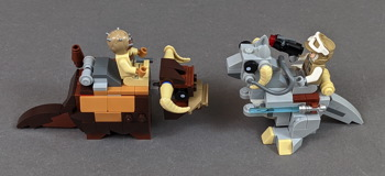 75298 AT-AT vs Tauntaun Microfighters Review 18